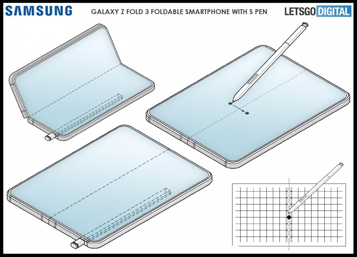 اولین تصاویر از طرح مفهومی Galaxy Fold 3 منتشر شد