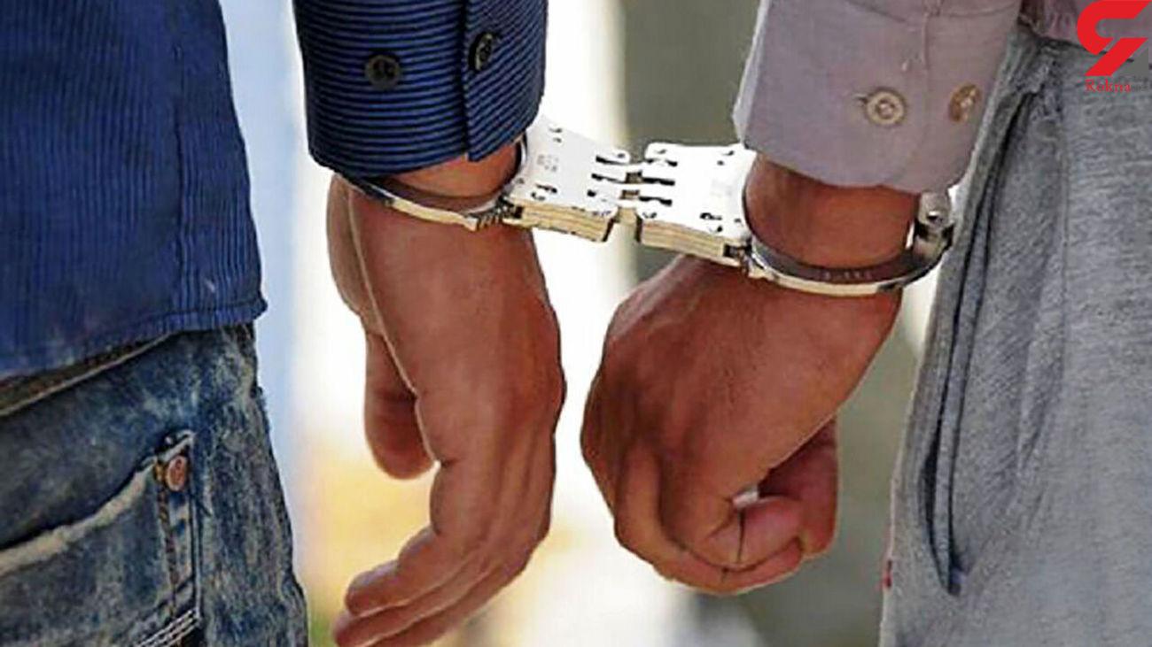 بازداشت یکی از عاملان سرقت میلیاردی شمالل غرب تهران