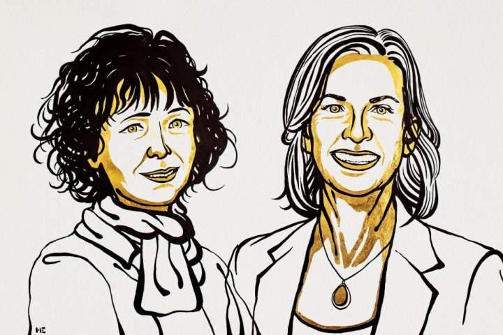 برندگان جایزه نوبل شیمی ۲۰۲۰ معرفی شدند – آوا