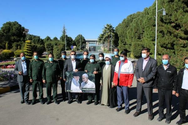 برگزاری رزمایش پدافند غیرعامل گروە صنعتی بارز در کرمان