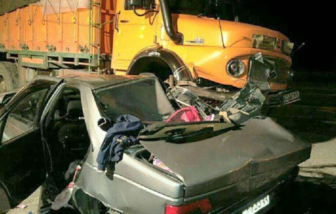 مرگ ۲ خانم از مهمانداران هواپیمایی ماهان در تصادف سرویس شرکت