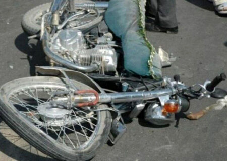 مرگ تلخ ۱۷ موتورسوار در جاده های کرمانشاه