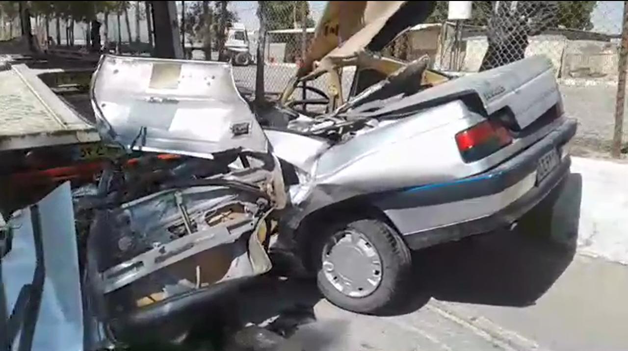 تصادف یک دستگاه پژو ۴۰۵ با یک دستگاه تریلی در بندرکنگ با ۴ کشته و مصدوم