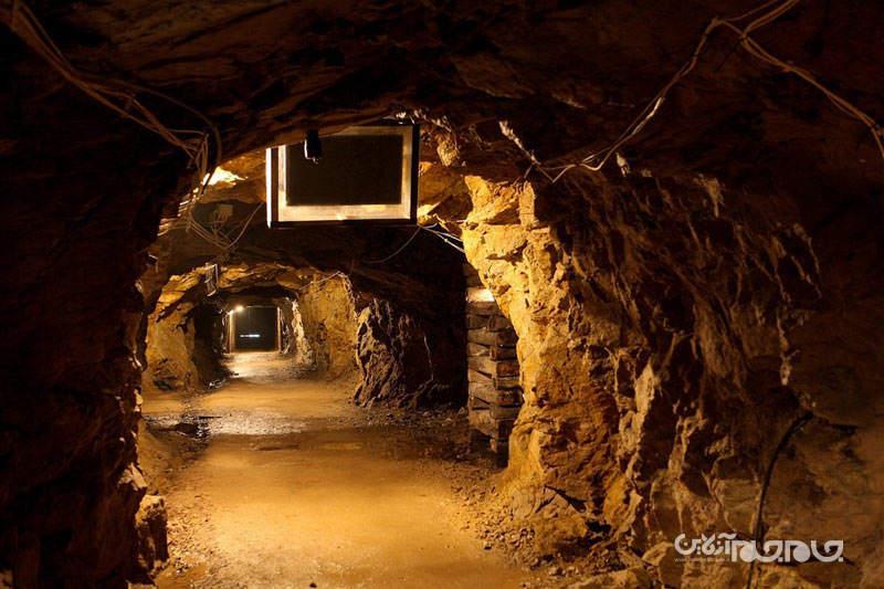 تونل های مخفی ارتش نازی در لهستان+تصاویر
