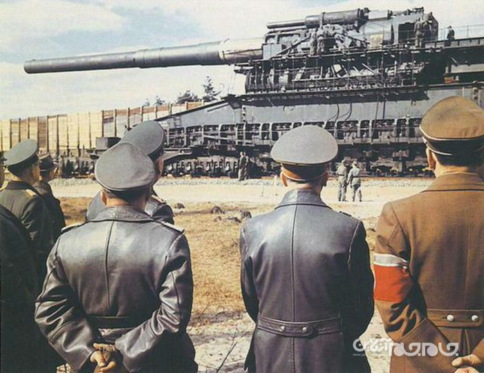 توپ غول پیکر «گوستاو»؛ اسلحه مخرب و ناموفقی که به دستور هیتلر ساخته شد+تصاویر