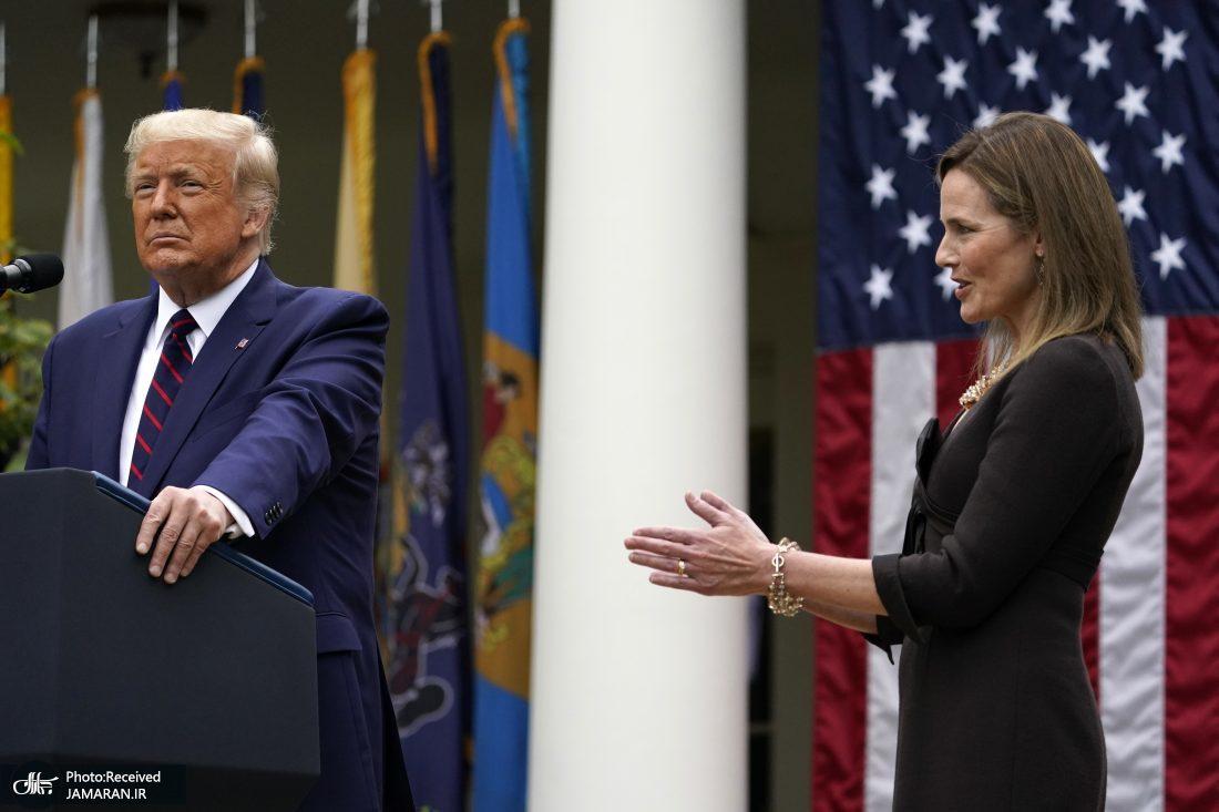 جدال آغاز شد: ترامپ «ایمی برت» را معرفی کرد