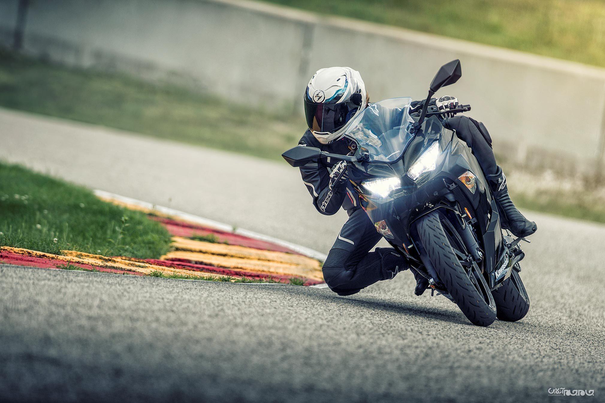 حفظ تعادل موتورسیکلت؛ با فناوری پرتاب موشک+عکس