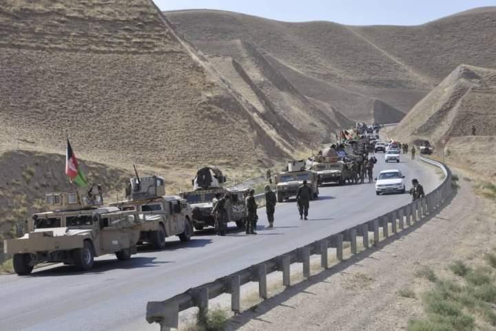 حوزههای چهارم و دهم شهر لشکرگاه مرکز هلمند از وجود طالبان پاکسازی شد – آوا