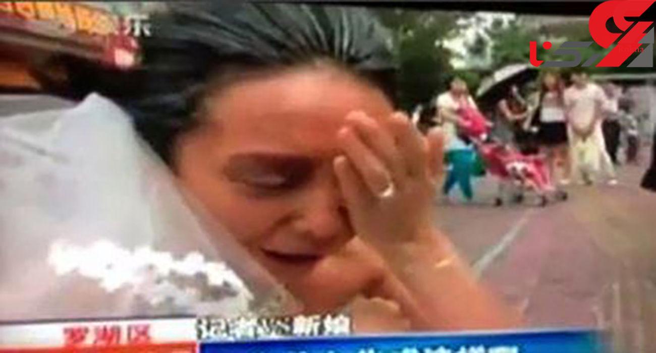 داماد جوان پس از دیدن چهره عروس خانم خودکشی کرد ! + عکس