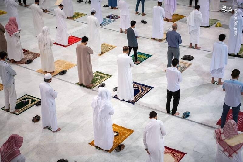 درهای مسجد الحرام به روی نمازگزاران باز شد