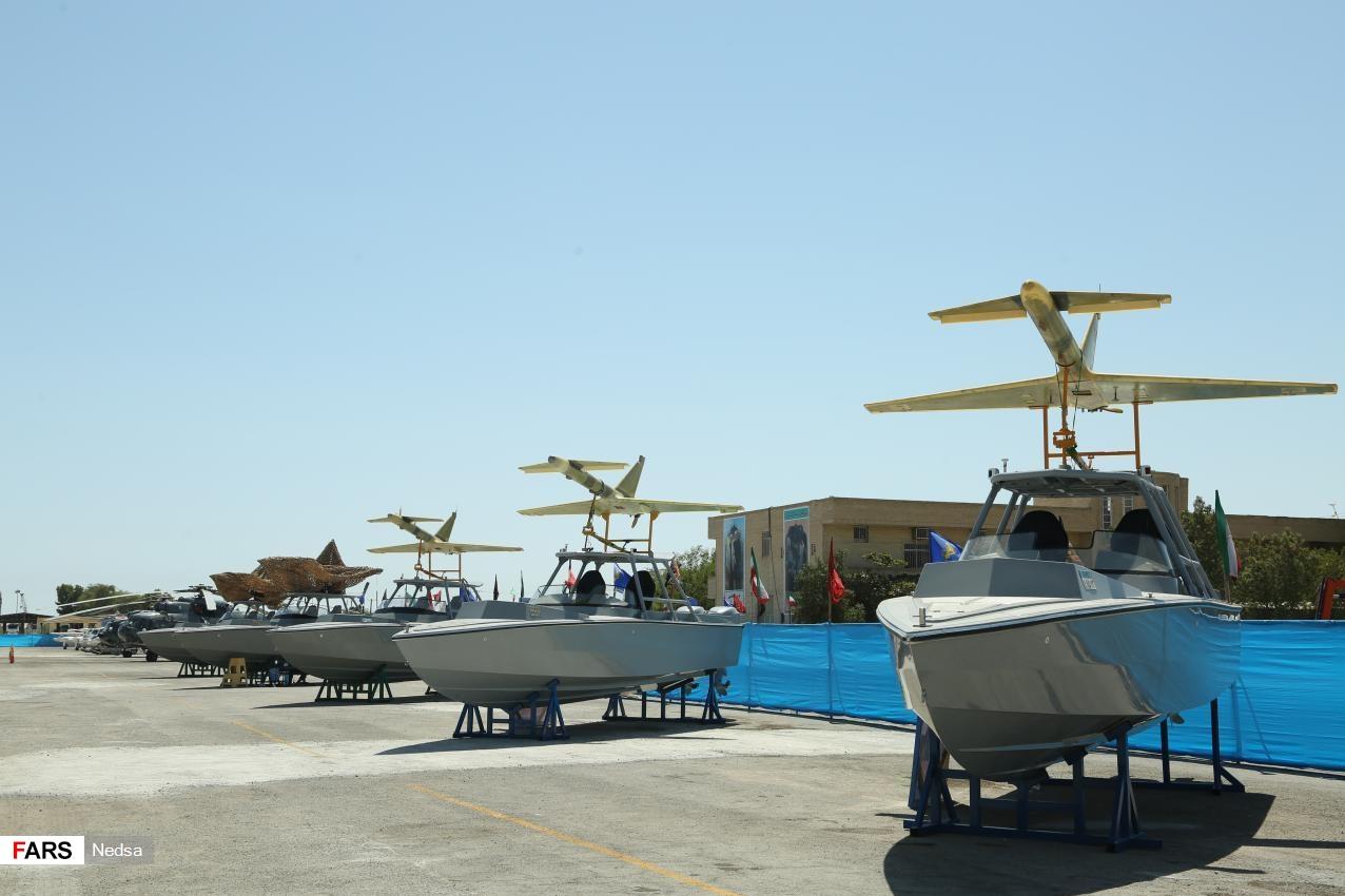 دست پُر نیروی دریایی سپاه در آسمان و دریا با پهپاد انتحاری