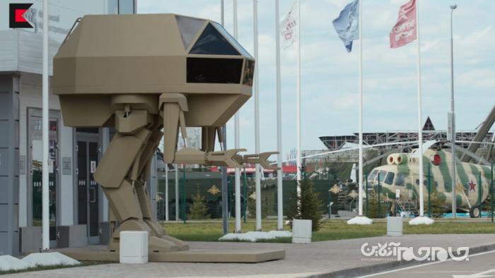 ربات جنگی غول پیکر شرکت کلاشنیکف+عکس