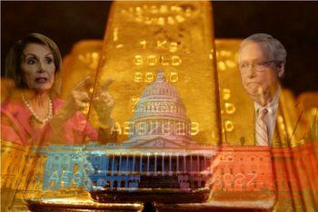 ریزش طلا در بازار جهانی