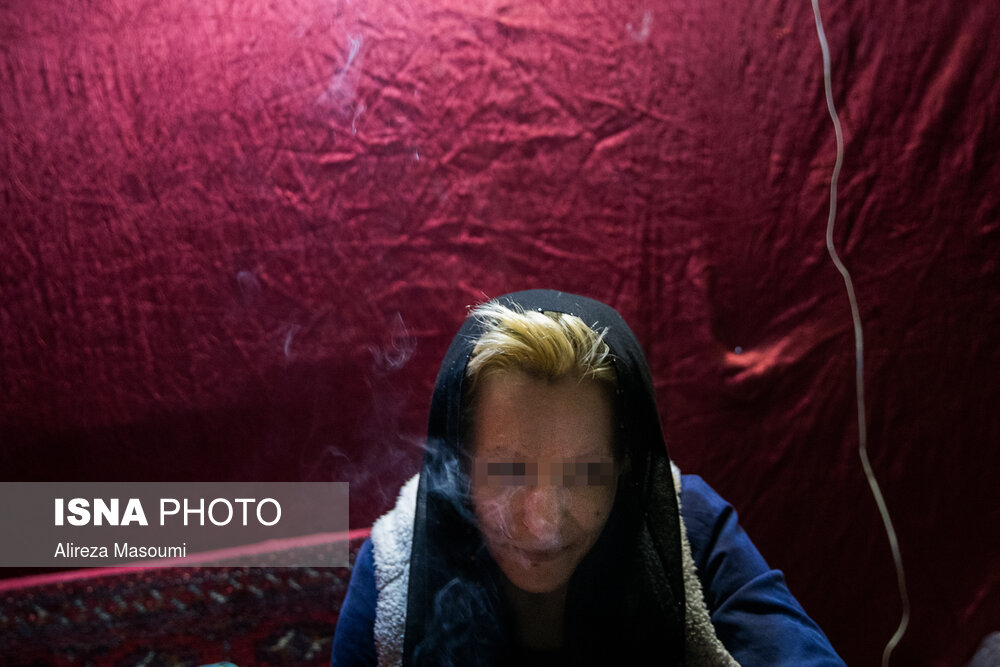 زنان معتاد در خانه های اعتیاد «شوش»، «مولوی» و «هرندی» تهران + عکس