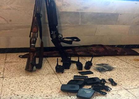 دستگیری ۲۱ شکارچی غیرمجاز در مازندران