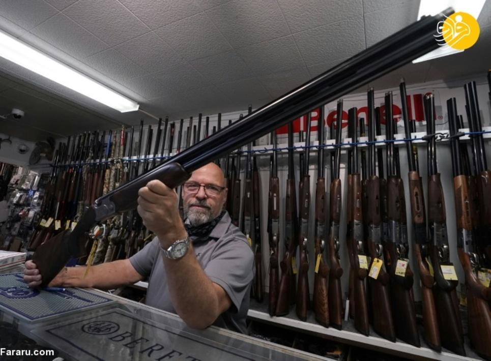 شیوع کرونا و تب داغ خرید اسلحه در آمریکا + عکس