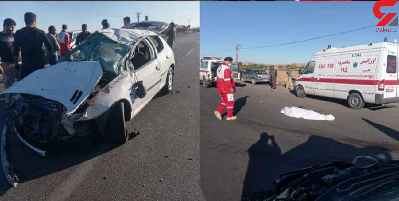 عکس جسد وسط جاده / همه در شاهرود شوکه شدند + علت