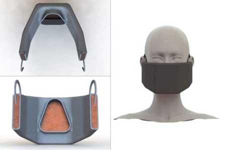 ماسکی که با ایجاد گرما «کرونا» را غیرفعال میکند