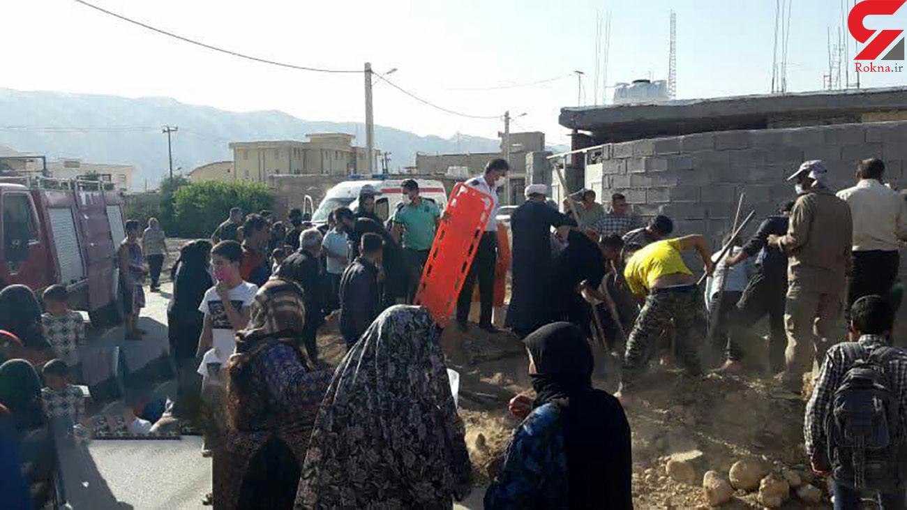 مرد باشتی زنده زنده در گودال مرگ دفن شد/ ۲۰ دقیقه بعد اتفاق عجیبی رخ داد + عکس