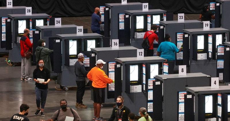 مشارکت در انتخابات زودهنگام ریاستجمهوری آمریکا |  ۱۰ میلیون نفر رای دادند
