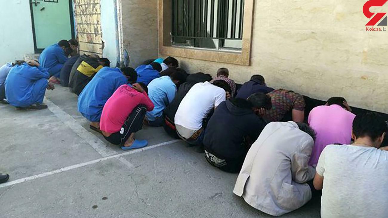مواد فروش محله بی سیم تهران نقره داغ شدند