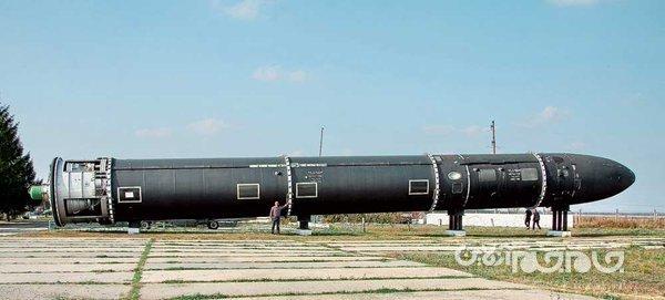 موشک روسی شیطان ۲ با قابلیت تخریب یک کشور+عکس