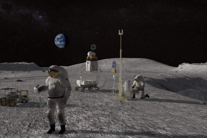 نخستین فضانورد زن به کره ماه میرود – آوا