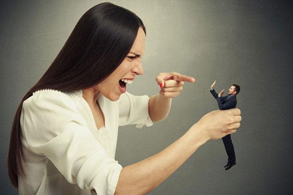 وقتی خانمها از همسرشان ناراضی هستند
