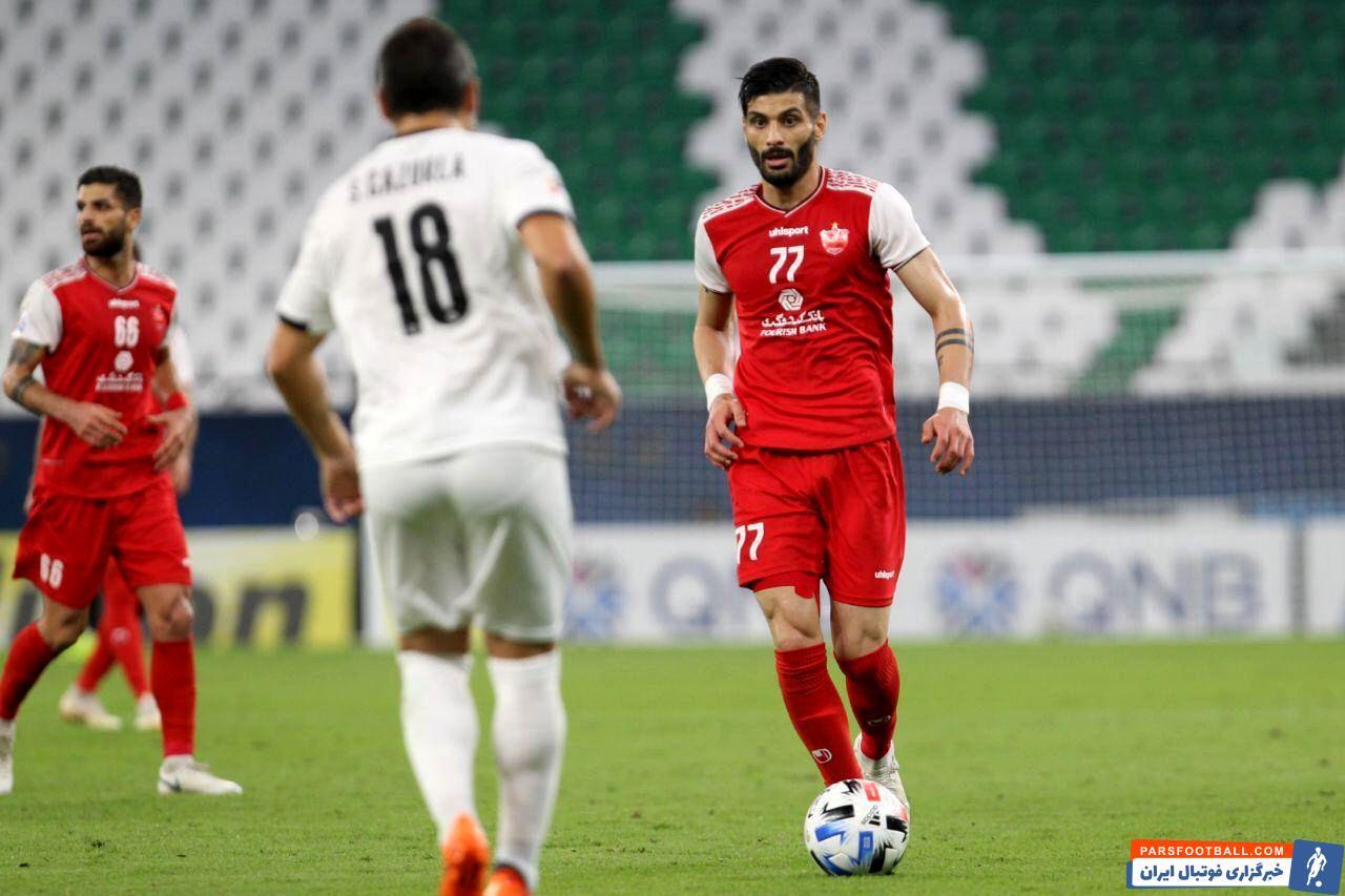 پرسپولیس ؛ سعید آقایی خطاب به یحیی گل محمدی : شما یک آدم حسابی هستید