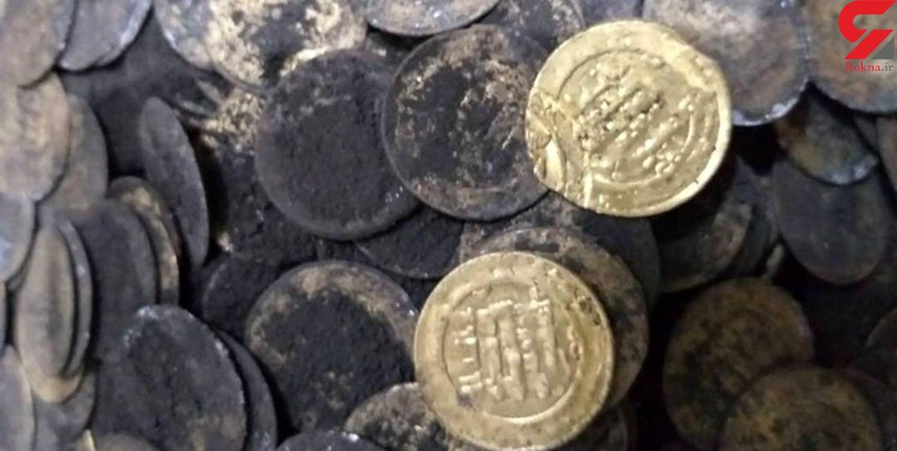 پیدا شدن سکههای زیرخاکی در شهرری/ ۲۶۰ سکه قدیمی کشف شد