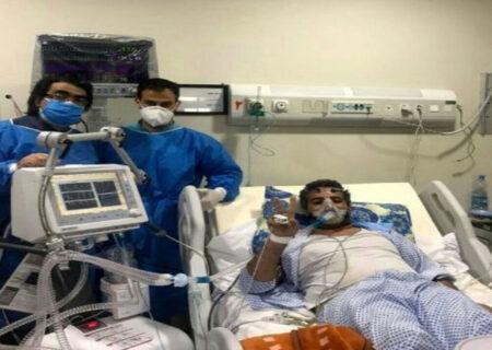 مرگ تلخ کاظم احمدی اولین مدافع سلامت طبس با کرونا + عکس