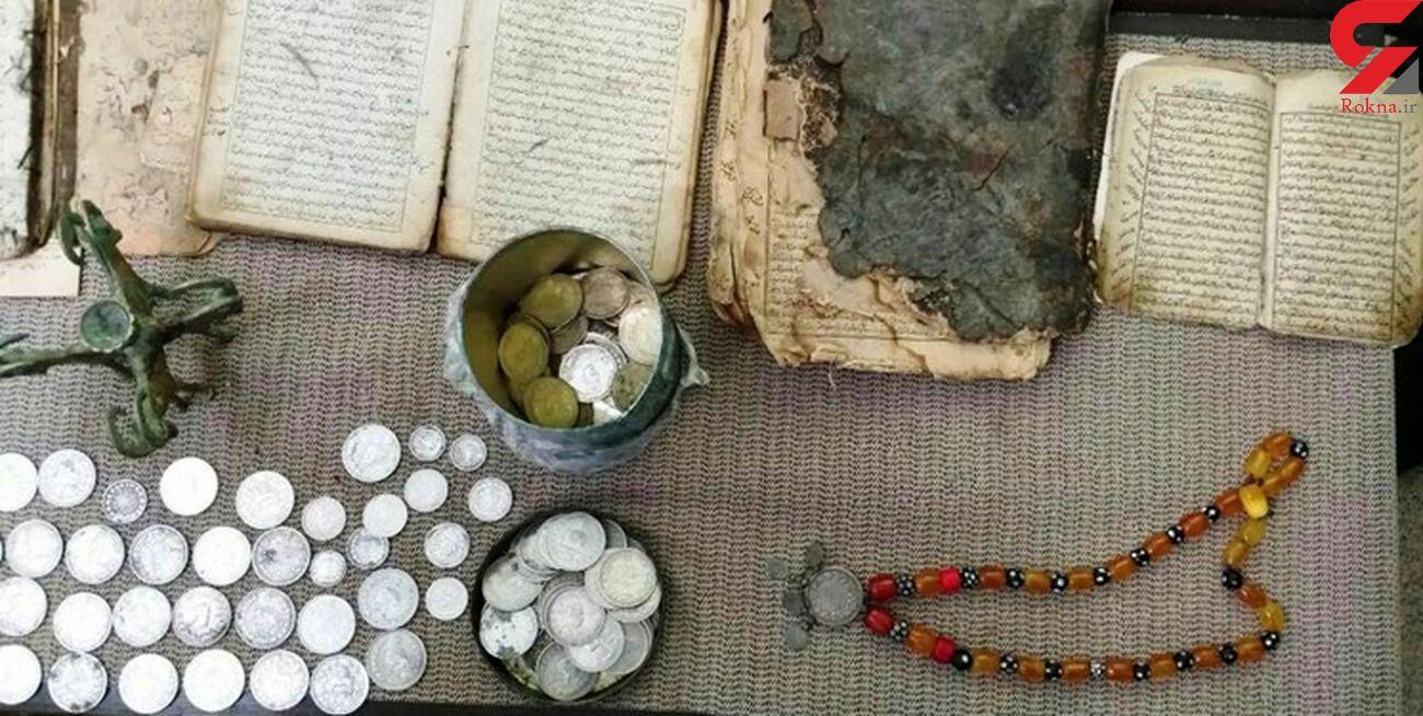 کشف ۳۱ قطعه اشیاء عتیقه در اسلام آبادغرب