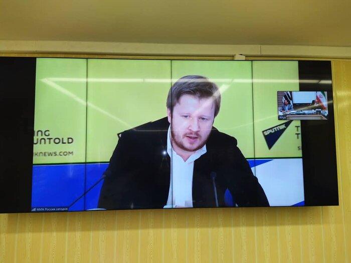 کنفرانس ویدئویی ایرنا- اسپوتنیک درباره خبرنگاری در عصر کرونا برگزار شد