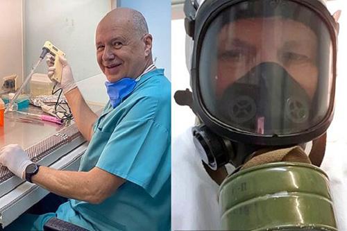 یک محقق روس ۲ بار خود را به کرونا آلوده کرد
