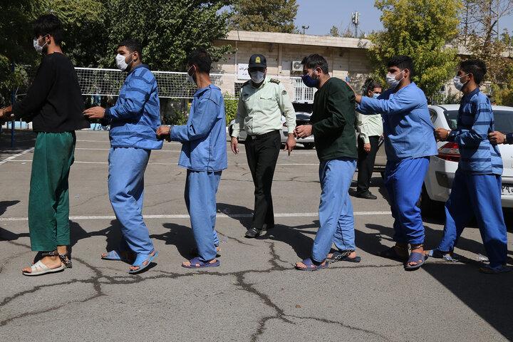 ۶ سارق با  ۵۰ فقره سرقت منزل در تهران دستگیر شدند