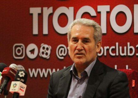 علیپور: مشکل توکلی برای حضور در ایران مسائل خانوادگی است/ پیگیر اضافه شدن یک مهاجم به تراکتور هستیم