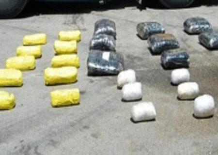 کشف ۸۸۵ کیلو انواع مواد مخدر در کردستان