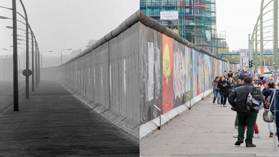 ۲۸ سال تمام این دیوار به طول ۱۶۷ کیلومتر و ۸۰۰ متر دو بخش شرقی و غربی برلین را از هم جدا میکرد
