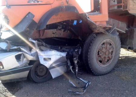 تصادف مرگبار در محور قدیم ساوه همدان
