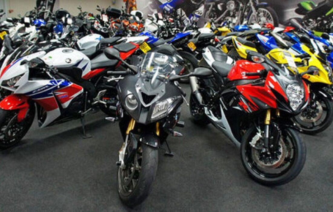 قیمت روز موتورسیکلت در ۲ آذر ۹۹