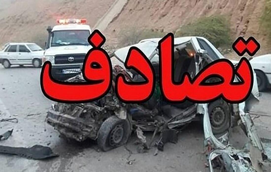 یک کشته در تصادف جاده دزفول-شوشتر