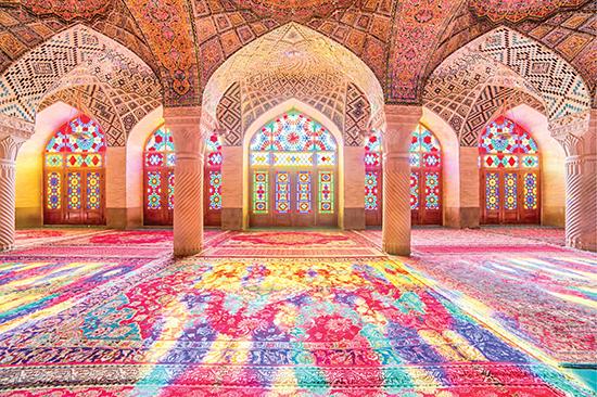 مسجد صورتی/ شاهکار معماری