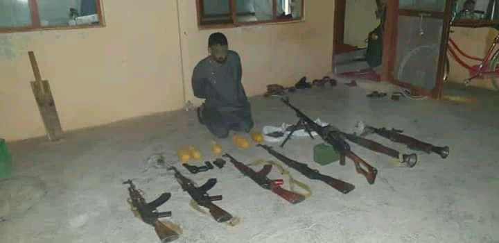 دستگیری ۷ قاچاقچی اسلحه و کشف مقادیری سلاح و مهمات طی سه روز گذشته در بلخ – آوا