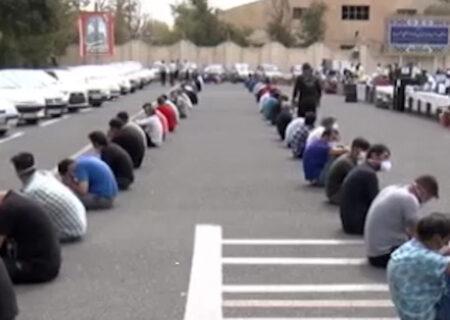 بازداشت ۱۱ سارق حرفه ای در مراغه