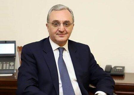 ستایش ارمنستان از موضع ایران درباره صلح و امنیت منطقه