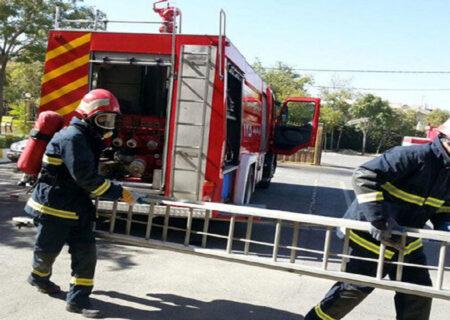 ۱۴ عملیات امداد و نجات و اطفای در اهواز حریق انجام شد