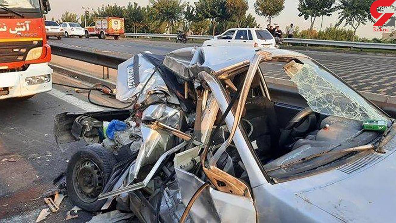 ۳ کشته و یک مجروح حاصل برخورد پژو پارس با موتورسیکلت در داراب
