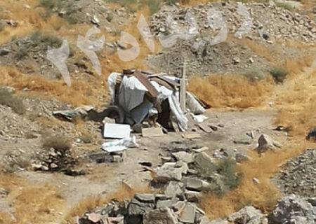 ماموران شهرداری پناهگاه کارتن خواب ها را آتش زدند