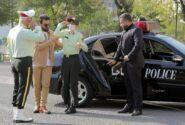 نوجوان کم توان ذهنی از رویای پلیس شدن به فرماندهی پلیس تهران رسید !