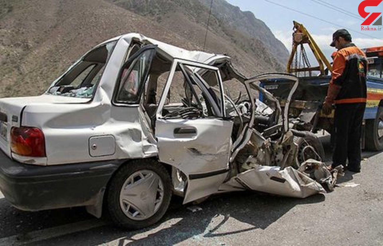 ۶ زن و مرد و کودک در اصفهان لت و پار شدند